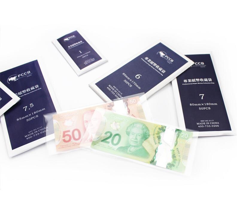Холдеры для банкнот PCCB №7,5 - 2