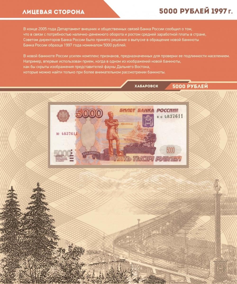 Альбом для банкнот Российской Федерации - 12