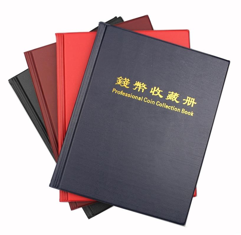 Альбом PCCB для 200 монет в холдерах (красный) - 3