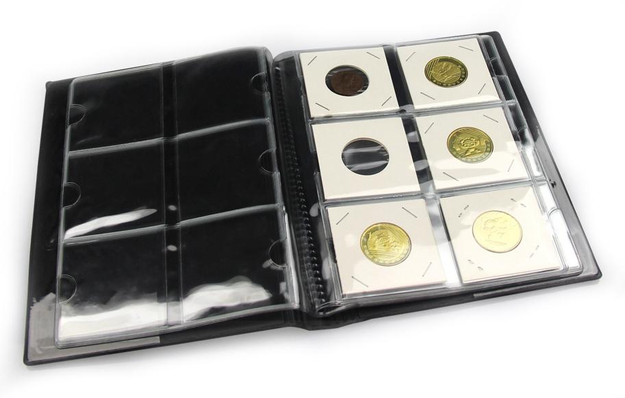 Альбом PCCB для 60 монет в холдерах (черный) - 1