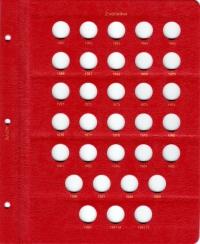 Альбом под регулярные монеты СССР 1961-1991 гг. (по номиналам) - 2