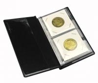 Альбом PCCB для 12 монет в холдерах (бордовый) - 2