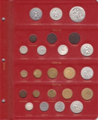 Альбом для монет РСФСР и СССР регулярного чекана 1921 - 1957 гг. - 2