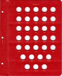 Альбом под регулярные монеты СССР 1961-1991 гг. (по номиналам) - 5