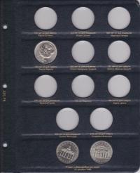 Альбом для памятных и регулярных монет ГДР - 8