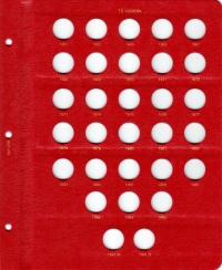 Альбом под регулярные монеты СССР 1961-1991 гг. (по номиналам) - 6